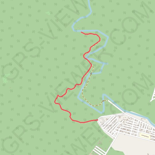 Irawan GPS track, route, trail