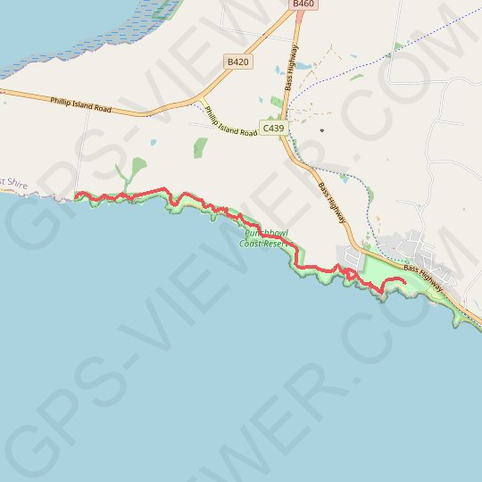 George Bass Coastal Walk GPS track, route, trail